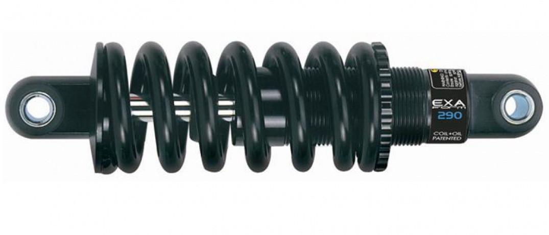 Амортизатор задній гідравлічний чорний без регулювання KS-290 Kind Shock