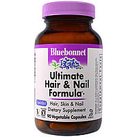 Bluebonnet Nutrition, Ultimate Hair & Nail Formula, 90 Vcaps