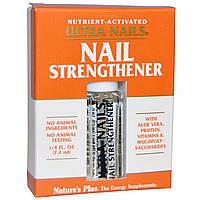 Natures Plus, Ultra Nails, средство для укрепления ногтей, 1/4 жидкой унции (7,4 мл)