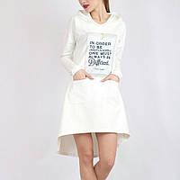 Спортивное женское платье трикотажное с надписями 7fe2d01eb036d
