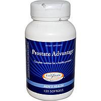 Enzymatic Therapy, Пищевая добавка Prostate Advantage, мужское здоровье, 120 мягких капсул