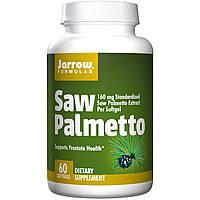 Jarrow Formulas, Со пальметто, 160 мг, 60 мягких капсул