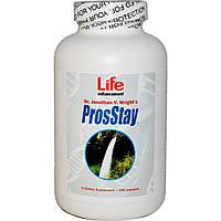 Life Enhancement, ProsStay от простатита, 180 капсул