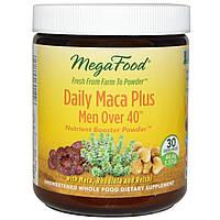 MegaFood, Комплекс для мужчин старше 40, с корнем перуанской маки, курс 1 месяц 1.57 унции (44.4 г)