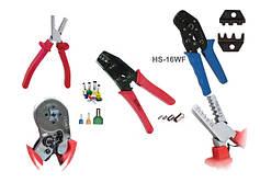Опрессовочный (обжимной) инструмент для втулочных (трубчатых, гильзовых) наконечников