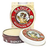 Badger Company, Органический воск для усов, для мужчин, 0,75 унций (21 гр)