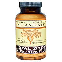 Whole World Botanicals, Королевская мака при пери-менопаузе, 500 мг, 120 растительных капсул