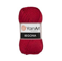 Пряжа Begonia красный
