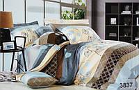Сатиновое постельное белье семейное ELWAY 3837