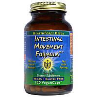 HealthForce Nutritionals, Intestinal Movement Formula, 120 веганских капсул