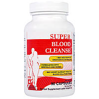 Health Plus Inc., Суперочистка крови, 753 мг, 90 капсул