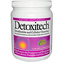 Natural Factors, Пищевая добавка Detoxitech, детоксикация и клеточное очищение, 1,3 фунта (592 г)