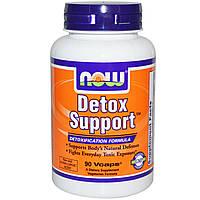Now Foods, Улучшение детоксикации, 90 растительных капсул