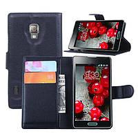 Чехол-бумажник для LG Optimus l7 ii p710