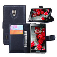 Чехол-бумажник для LG Optimus l7 ii p713