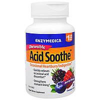 Enzymedica, Жевательные Таблетки для Снижения Кислотности, Ягодный Вкус, 30 Таблеток