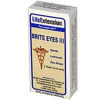 Life Extension, Brite Eyes III, 2 пузырька (5 мл каждый)
