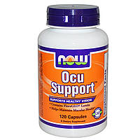 Now Foods, Препарат для глаз Ocu Support, 120 капсул