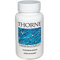 Thorne Research, Подавляющий стресс B-комплекс, 60 растительных капсул