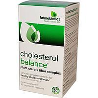 FutureBiotics, Cholesterol Balance, Средство для контроля уровня холестерина, 90 вегетарианских капсул