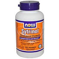 Now Foods, Ситринол, Средство для снижения уровня холестерина, 120 вегетарианских капсул