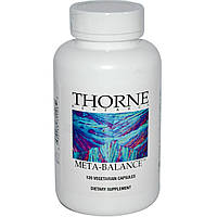 Thorne Research, Meta-Balance, 120 растительных капсул