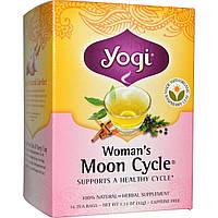 Yogi Tea, Moon Cycle для женщин без кофеина, 16 чайных пакетиков, 1.12 унций (32 г)