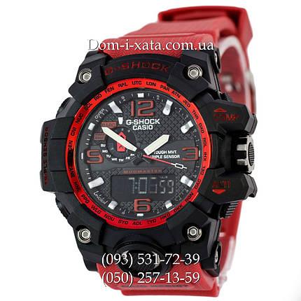 Электронные часы Casio G-Shock GWG 1000 Black/Red, спортивные часы Джи Шок(черно-красные), фото 2