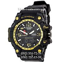 Электронные часы Casio G-Shock GWG 1000 Black/Gold, спортивные часы Джи Шок(черно-золотистые)