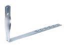 Скрученный держатель под черепицу DKC ND2206ZC, сталь оцинкованная