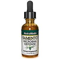 NutraMedix, Samento, защита от микробов, 1 жидкая унция (30 мл)