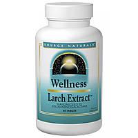 Source Naturals, Wellness, Экстракт лиственницы, 60 таблеток