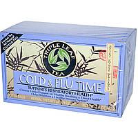 Triple Leaf Tea, Травяной чай при простуде и гриппе 20 чайных пакетиков, 1.4 унции (40 г)