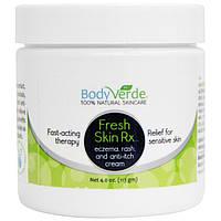 BodyVerde, Крем для чувствительной кожи Fresh Skin Rx, 4,0 унции (113 г)