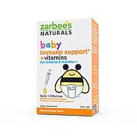 Zarbees, Baby, Поддержка иммунитета + Vвитамины, натуральный апельсиновый вкус, 2 жидких унции