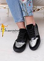 Кроссовки в паетках, фото 1