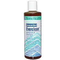 Home Health, Everclean, шампунь от перхоти, неароматизированный, 236 мл