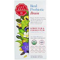 Get Real Nutrition, Настоящий пробиотик - мозг, 90 органических капсул