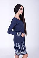 Легкое вязаное платье 2 цвета(44, 46 размеры)