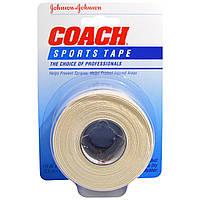 Johnsons Baby, Тренер, спортивная лента, 1,5 х 10 ярдов (3,8 см х 9,1 м)
