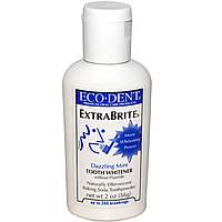 Eco-Dent, ExtraBrite, отбеливатель зубов, без соединений фтора, Ослепительная мята, 2 унции (56 г)