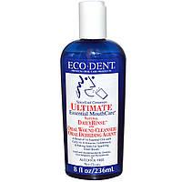Eco-Dent, Ultimate Essential, уход за полостью рта, без спирта, прохладно-пряная корица, 236 мл