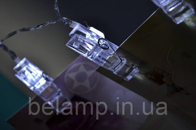 светодиодные прищепки на батарейках для фотографий