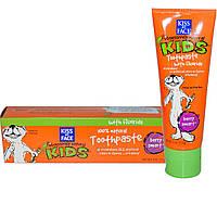 Kiss My Face, Obsessively Natural Kids, зубная паста с фтором, с привкусом ягод, 4 унции (113 г)