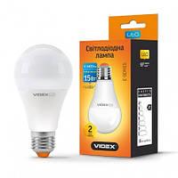 Лампа LED Videx A65e 15W E27 3000K 220V 1400Lm