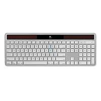 Беспроводная клавиатура на солнечных батареях, Logitech Wireless Solar Keyboard K750 - белая (работает только с ОС - MacOS / iOS) (920-003472)