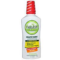 Natural Dentist, Здоровые десны, Ополаскиватель для профилактики гингивита с перечной мятой, 16,9 жидкой унции (500 мл)