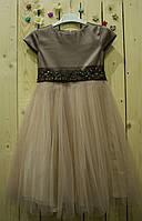 Нарядное платье Ненси   (рост 110-116 см)