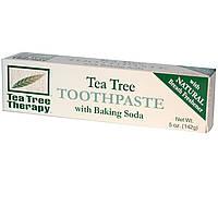 Tea Tree Therapy, Зубная паста с экстрактом чайного дерева и содой, 5 унций (142 г)