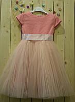 Нарядное платье Лилия  (рост 104-110 см)